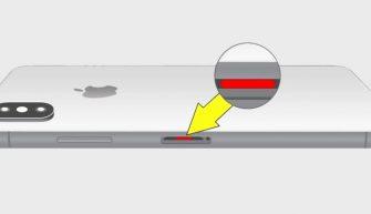 Индикатор попадания влаги в iPhone