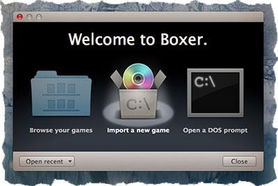 Boxer - DOS игры на MAC