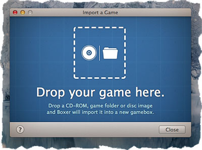 Boxer - установка DOS игры на MAC