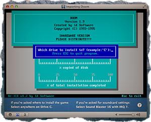 DOS игры на MAC