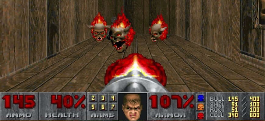 Doom 1 на Mac