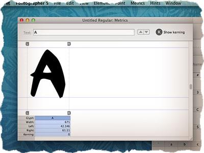 Fontographer - урок по созданию шрифта