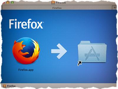 Установка FireFox на MAC OS X