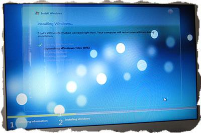 Установка Windows на компьютер с помощью BootCamp
