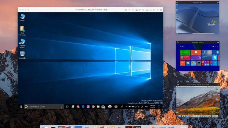 запуск windows на Мак шаг 3