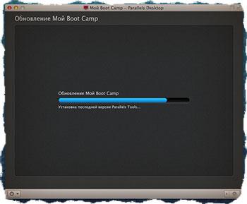 Parallels Desktop установка Windows с раздела Boot Camp