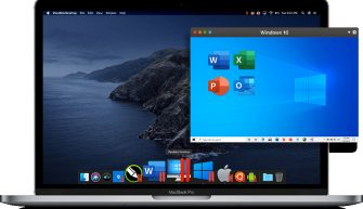 Parallels Desktop запуск windows на маке