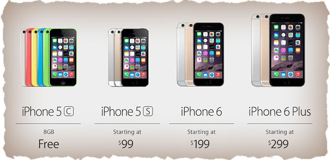 Дешевые iPhone 6 за 199$