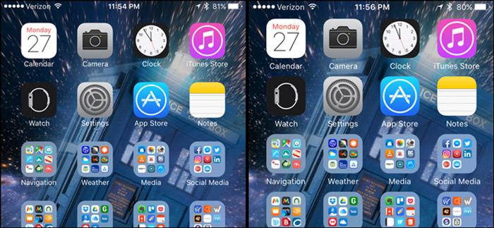большие значки иконок на Айфон