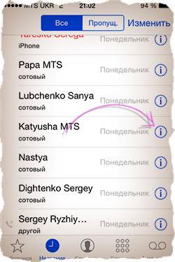 Как заблокировать абонента в iPhone