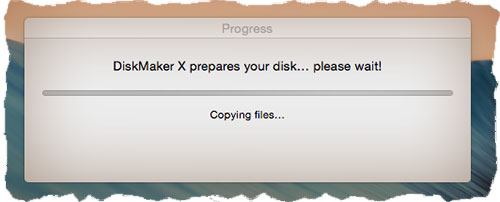 Diskmaker X для создания загрузочной флешки OS X