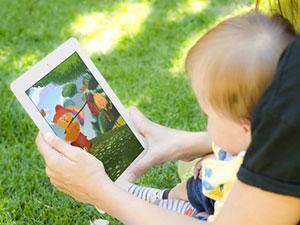Детские сказки на iPad