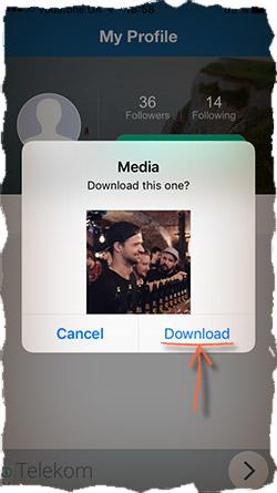 Сохранить видео из Instagram на iPhone