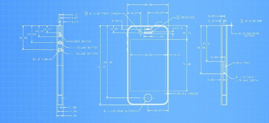 Схемы iPhone и iPad