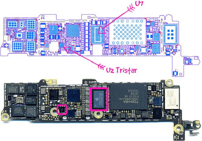 Замена контроллера питания и зарядки iPhone