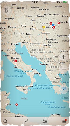 maps.me - лучший навигатор для айфона