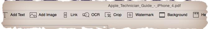 Инструменты для редактирования PDF