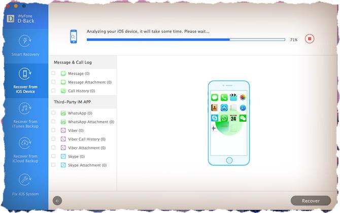 Как восстановить удаленные данные с iPhone