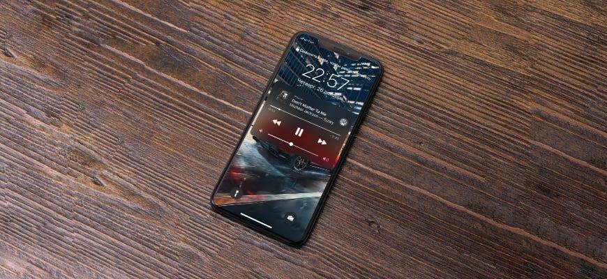 музыка на iPhone
