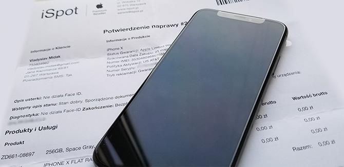 Замененный iPhone X