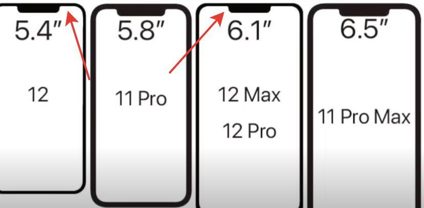 Челка на iPhone 12