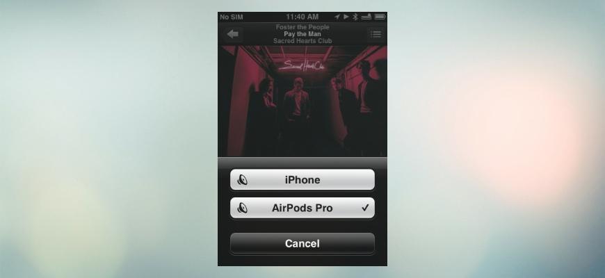 AirPods Pro отлично работают с 10-летним iPhone 3GS