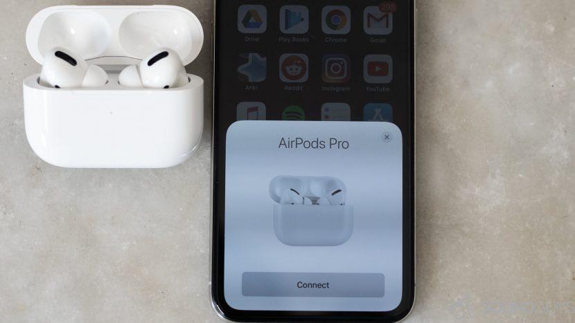 Подключение AirPods Pro к iPhone