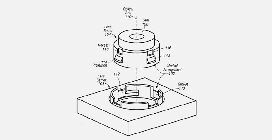 патент Appleпод номером 10534154