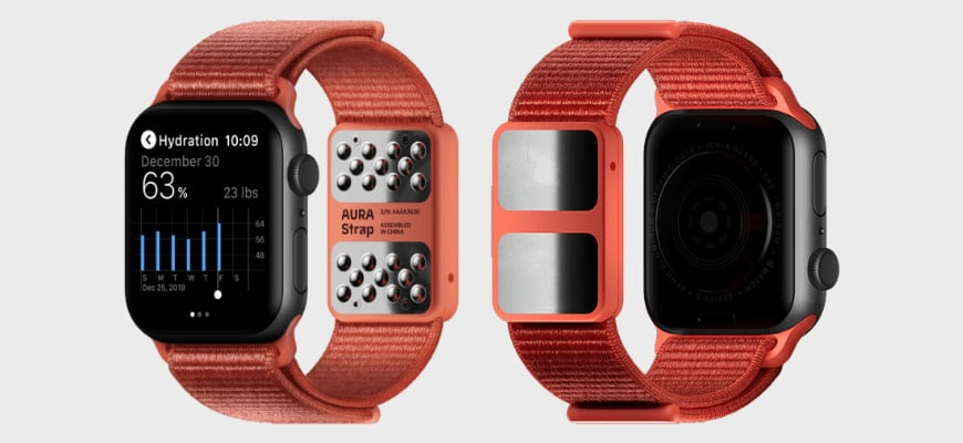 ремешок Aura Strap для Apple Watch
