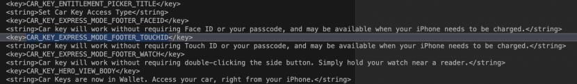 CarKey в iOS 13
