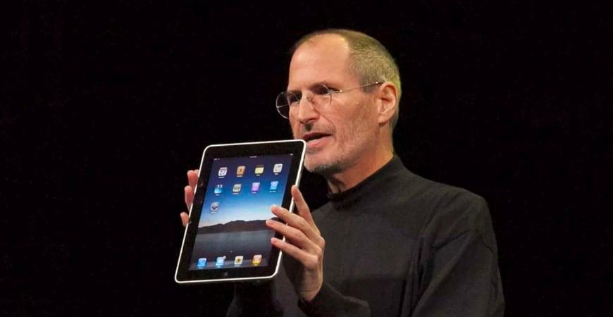 Ровно 10 лет назад Стив Джобс представил iPad