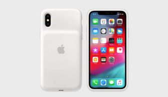 Apple iPhone XS Smart Battery Case White