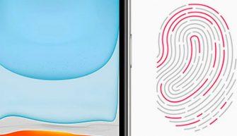 новый Touch ID