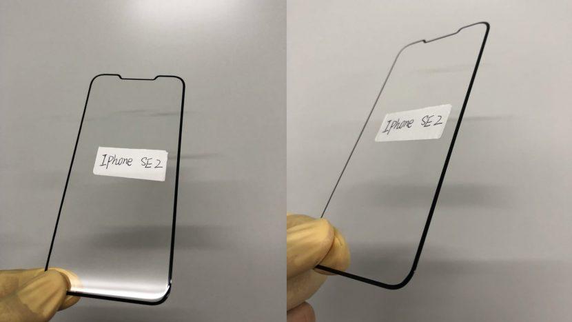 защитное стекло от Olixar для iPhone SE2