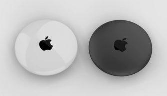 концепт Apple AirTags