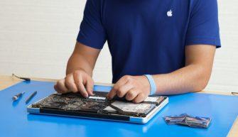 Apple предлагает ремонт устройств на дому