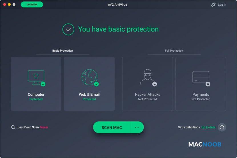 AVG Antivirus для Mac