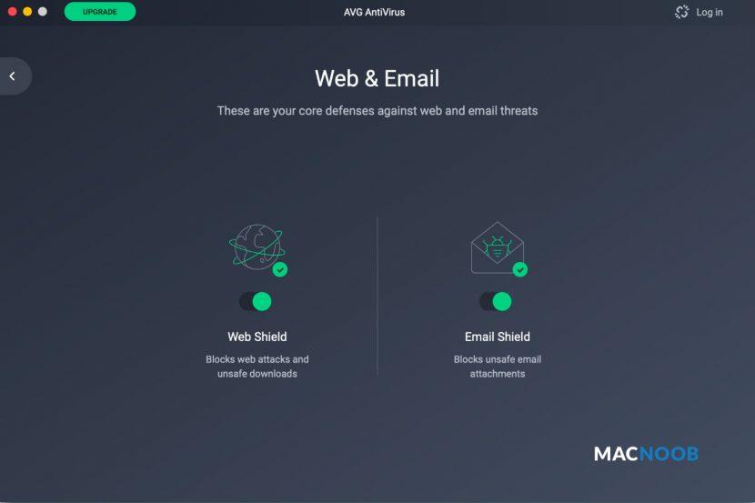 Защита почты AVG Antivirus