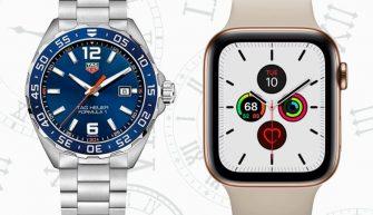 Apple Watch стали популярнее швейцарских часов