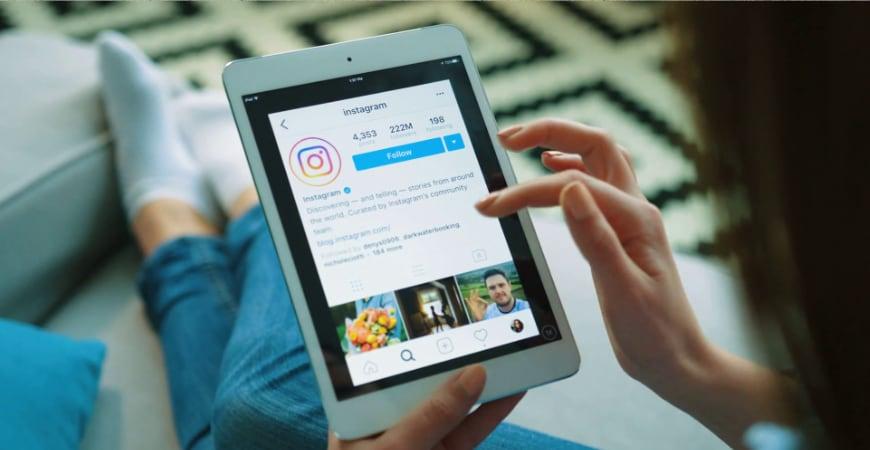 приложение Instagram на iPad