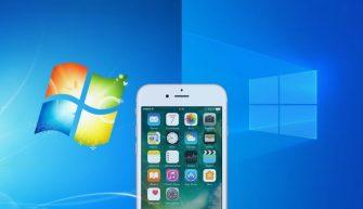iPhone Windows 7 и 10