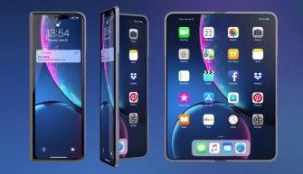 складной экран для iPhone