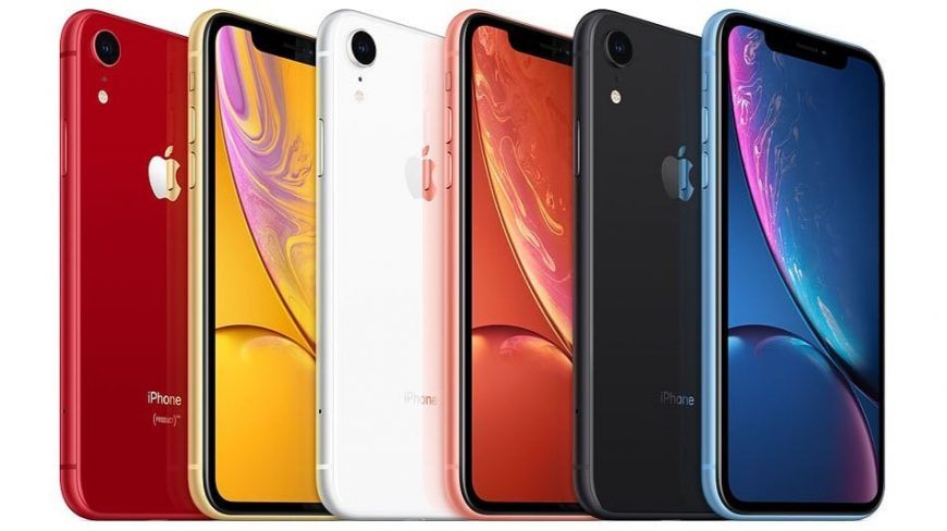 Цвета iPhone Xr