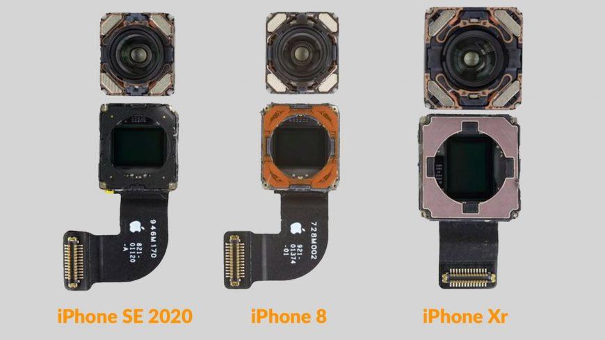 iPhone SE, 8 и XR