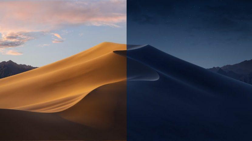 обои рабочего стола macOS Mojave