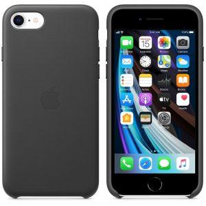 коричневый кожаный чехол Product Red для iPhone SE 2 поколения
