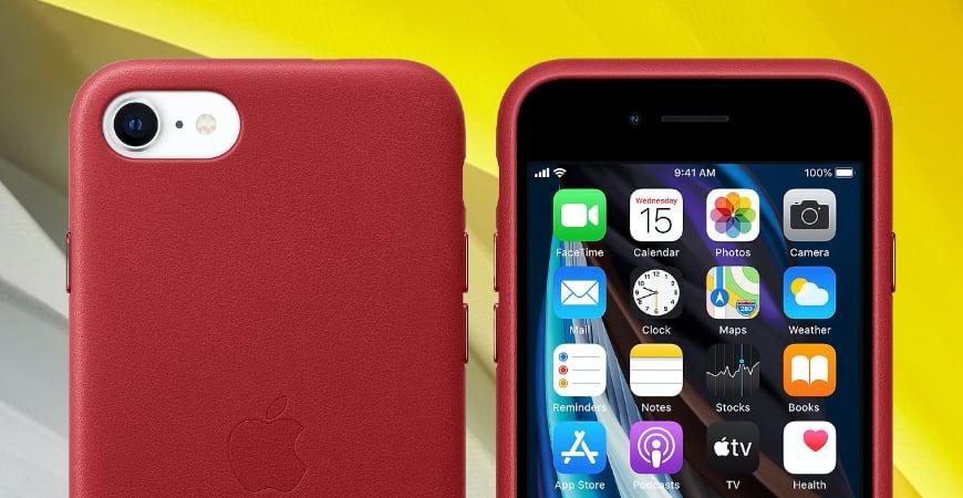 чехол Apple для iPhone SE 2 поколения