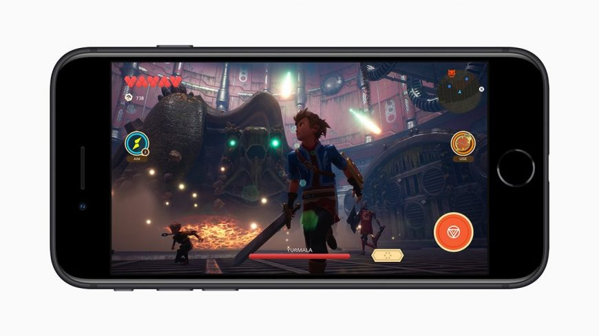 iPhone SE 2 для игр