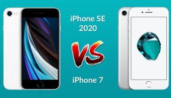 Сравнение iPhone SE 2020 и iPhone 7