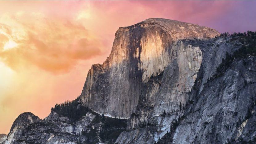 обои рабочего стола OS X Yosemite